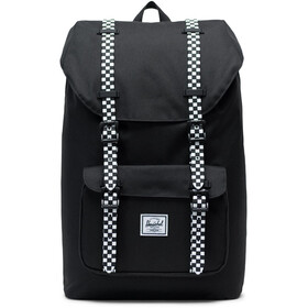 Herschel Little America Mid-Volume Backpack 17L, black/checkerboard